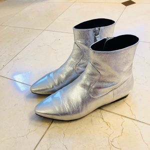 Silver Zara Moon Boots 37 / 7